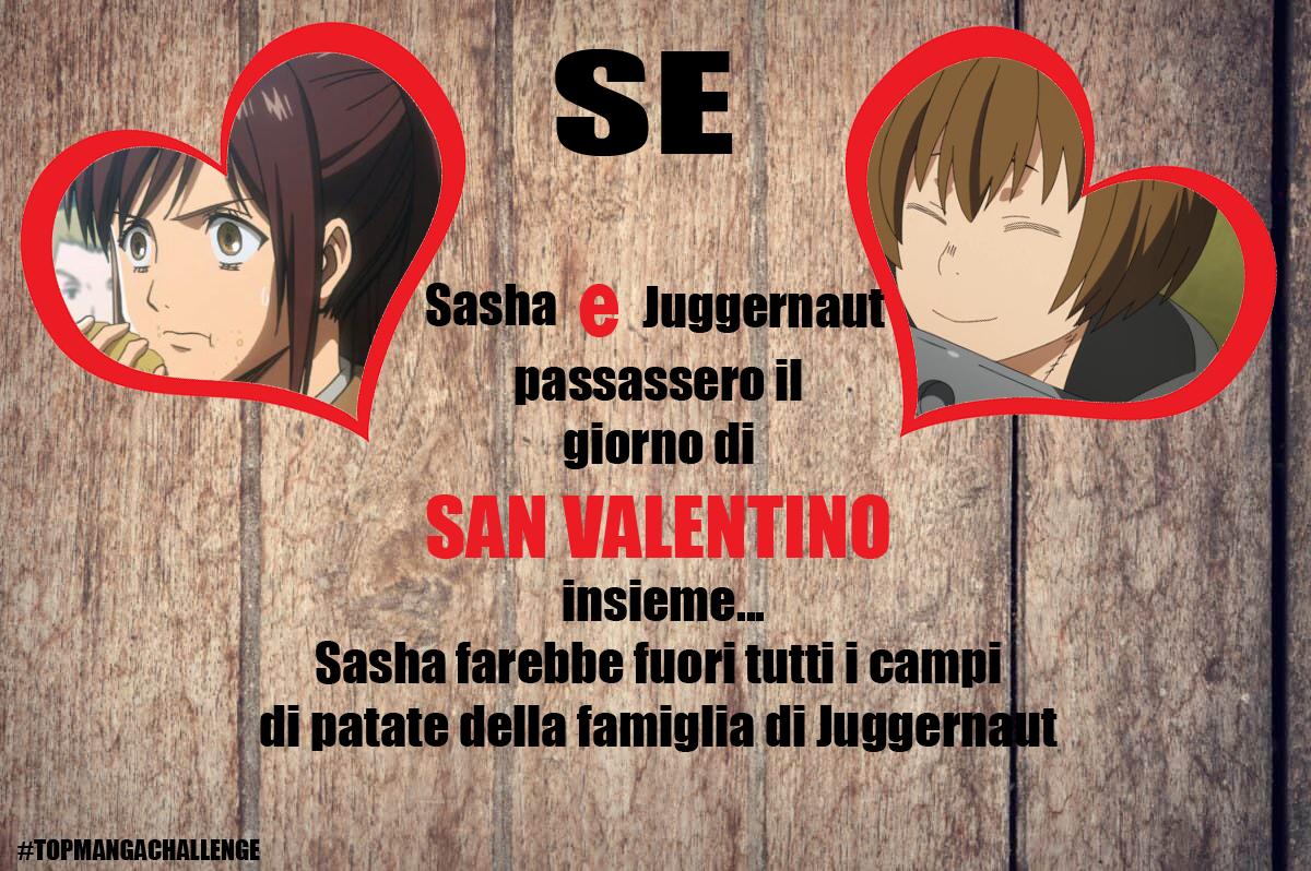 san valentino anime e manga